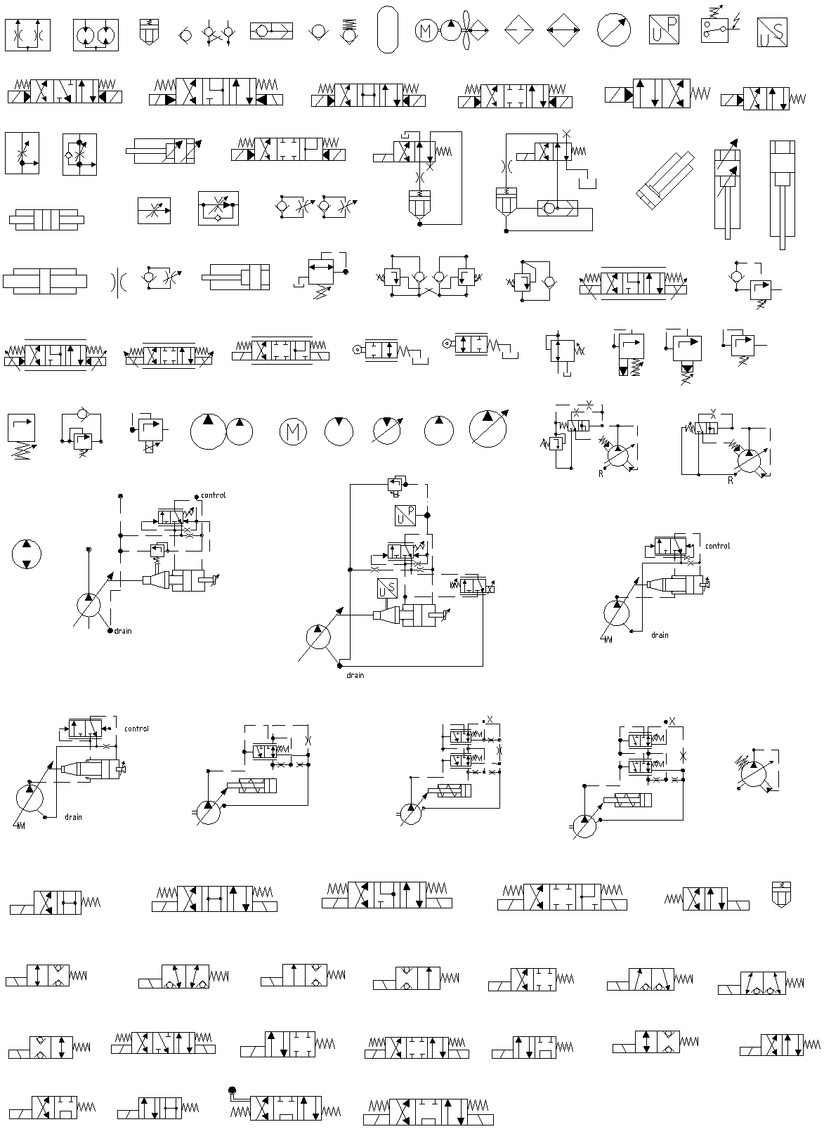 Cad Wiring Diagram Symbols : Hydraulic pneumatic and electrical schematic software